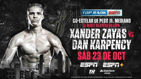 XandeXander Zayas vs. Dan Karpencyr