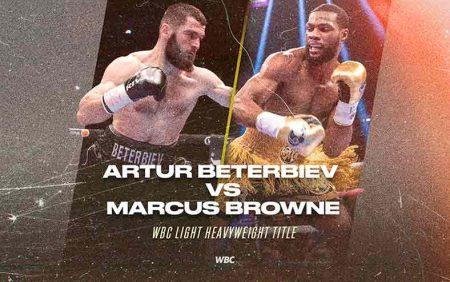 Artur Beterbiev vs. Browne