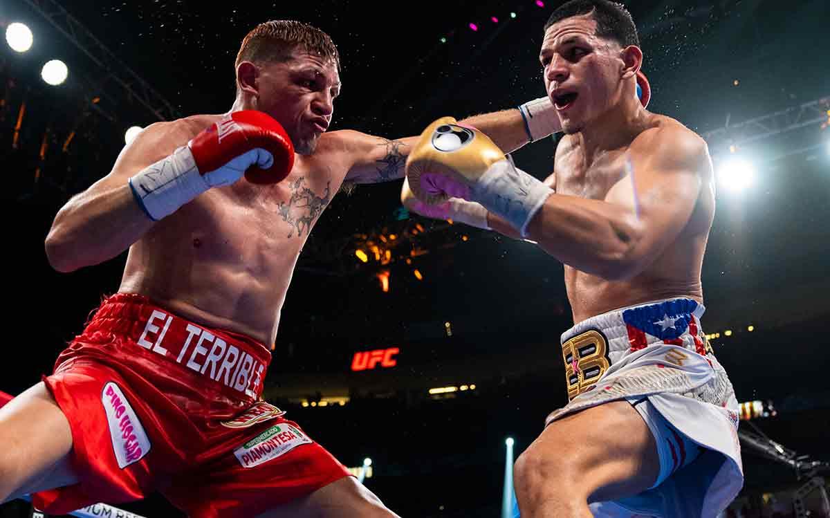 Edgar Berlanga vs Marcelo Esteban Coceres (Fotos cortesía deRyan Hafey/Premier Boxing Champions)