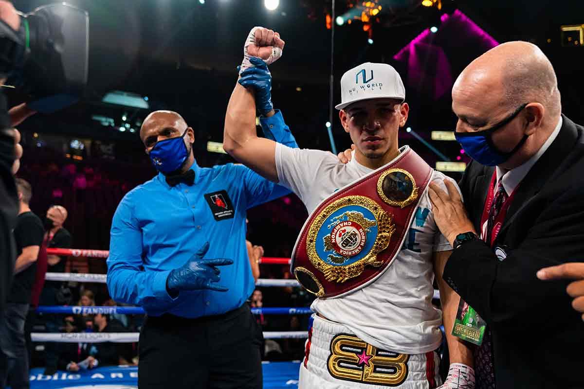 Edgar Berlanga (Foto cortesía deRyan Hafey/Premier Boxing Champions)