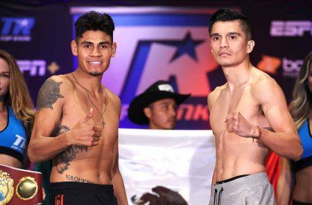 Emanuel Navarrete vs Joet Gonzalez (Mikey Williams (Top Rank vía Getty Images)