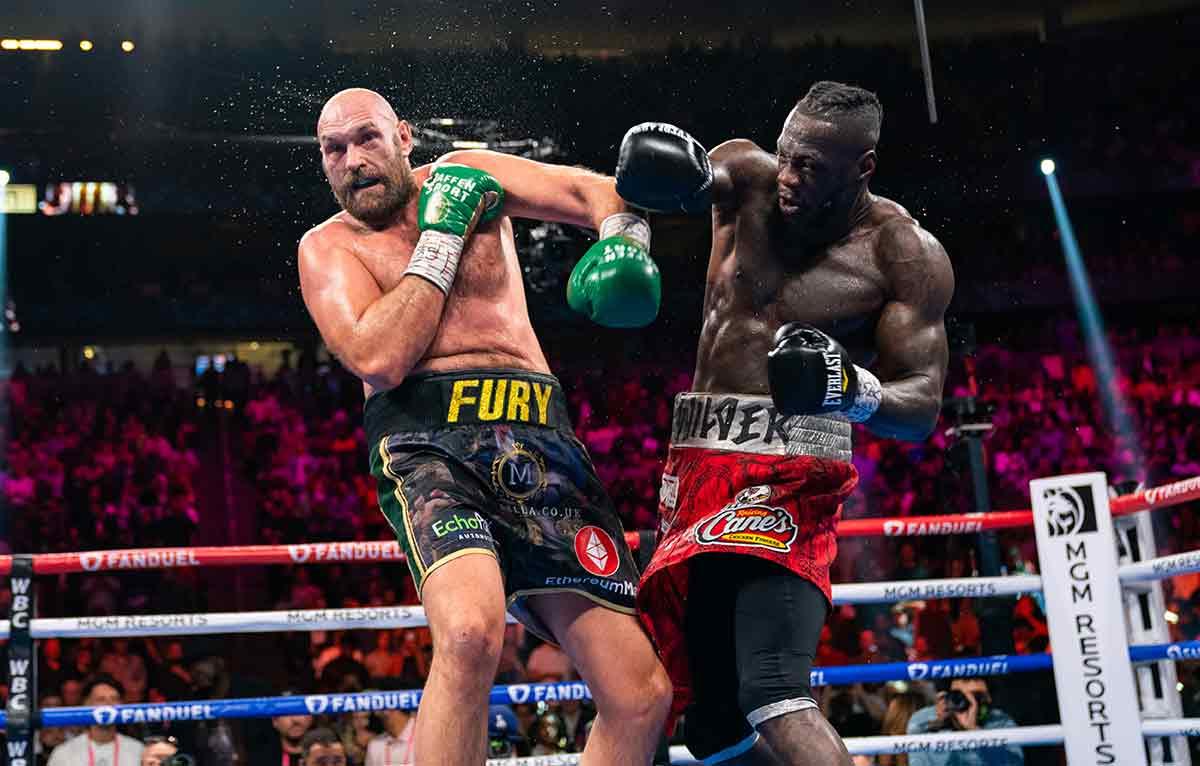 Tyson Fury vs. Deontay Wilder III (Ryan Hafey / Campeones de boxeo Premier)