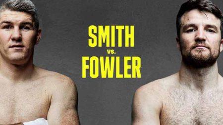 Liam Smith vs. Anthony Fowler