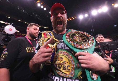 Tyson Fury (Fotos: Mikey Williams / Top Rank vía Getty Images)